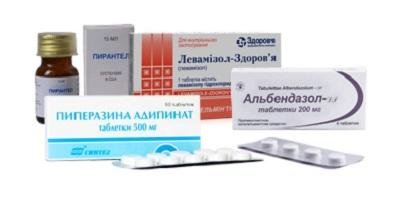 препараты от глистов для человека современные