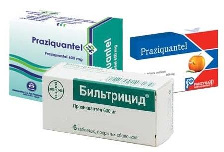Препараты на основе празиквантела